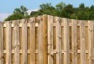 Back yard fencing